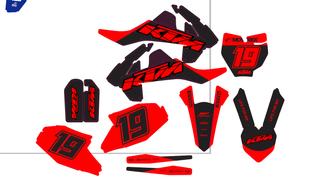 Kit de adhesivos KTM 65 SX