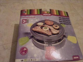Raclette eléctrica/ parrilla eléctrica