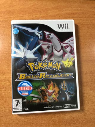 Juego Wii Pokemon Battle Revolution