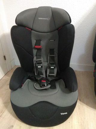 silla de coche Bèbè Confort Trianos grupos 1/2/3