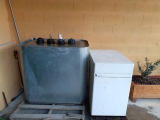 Caldera de gasoil + depósito de 700 litros