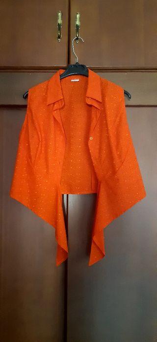 Blusa flamenca naranja