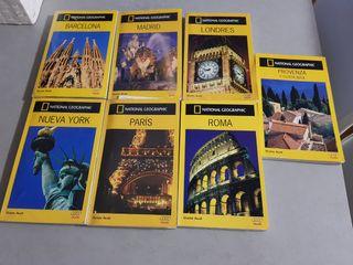 Guias de viaje Nathional Geographic.