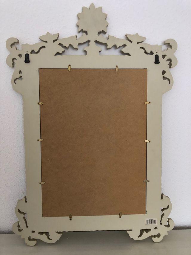 Espejo de madera Vintage