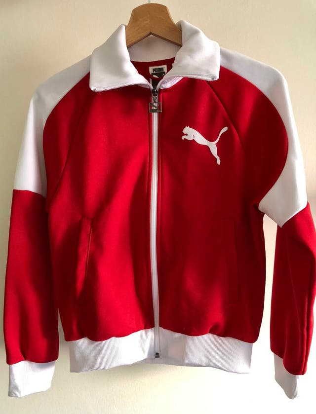 Chaqueta roja Puma