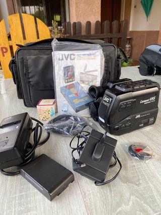 Cámara de vídeo JVC Compact VHS