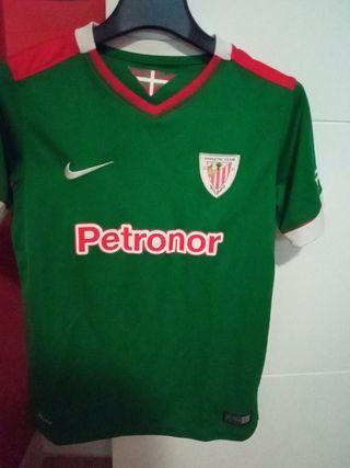 camiseta Athletic club Bilbao, talla M, 10-12 años
