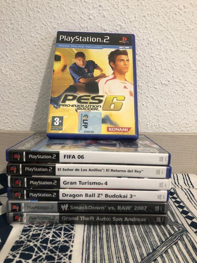 PACK juegos Play Station 2 (PS2)