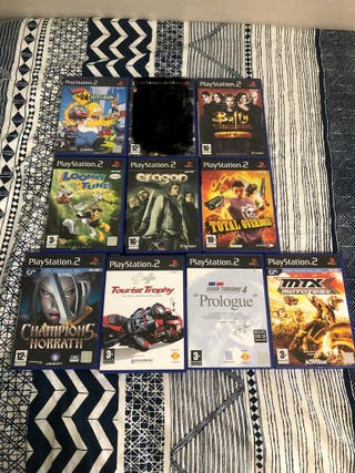 PACK juegos Play Station 2 (PS2)