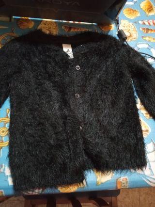 6 prendas de abrigo de niña semi nuevas