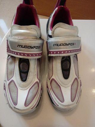 zapatillas ciclismo muddyfox