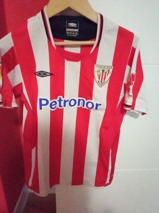 camiseta Athletic club Bilbao, talla 134 cm