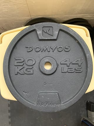 2 Discos de 20 kg