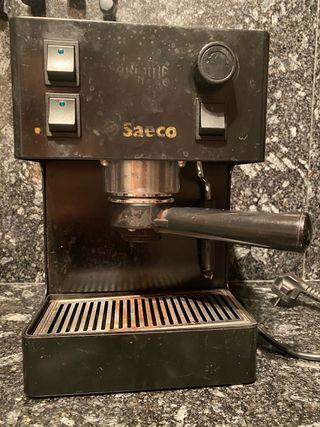 Cafetera electrica Saeco