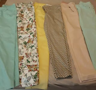 Pantalones sra. Uno 3€ dos 5€