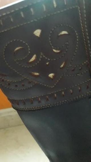 botas de cuero, Equitación