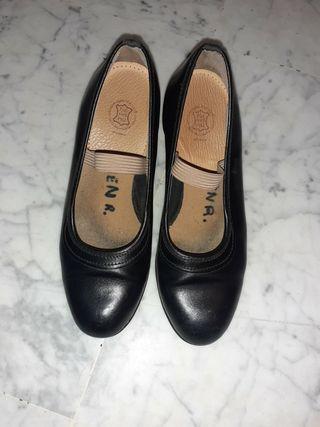 zapatos de tacón para baile flamenco