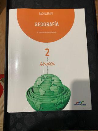 Libro de geografía 2Bach