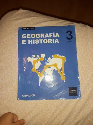 LIBRO GEOGRAFIA E HISTORIA 3°ESO.