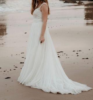 Vestido de novia de Mori Lee