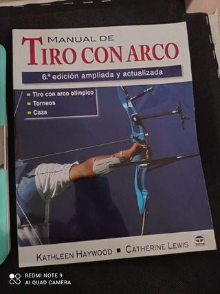 libro manual tiro con arco