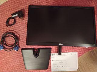 "pantalla de ordenador LG, 21.5"" LED, FullHD."