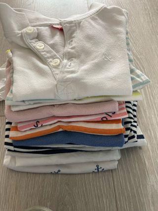 Lote camisetas bebé niño