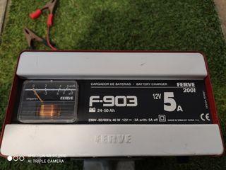 ferve f-903 cargador baterias 12 v