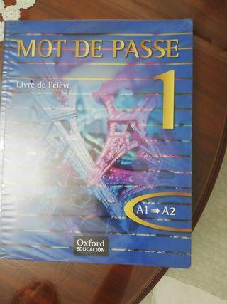 Libro de Francés MOT DE PASSE 1