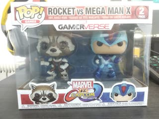 Funko Pop Rocket vs Mega Man X