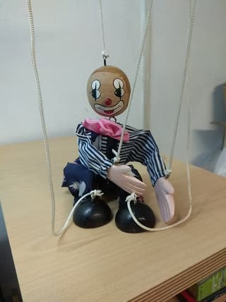 Marioneta madera