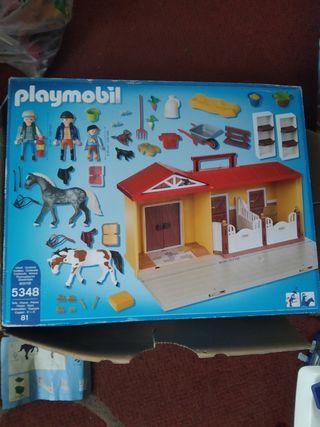 Playmobil country maletín caballos 5348