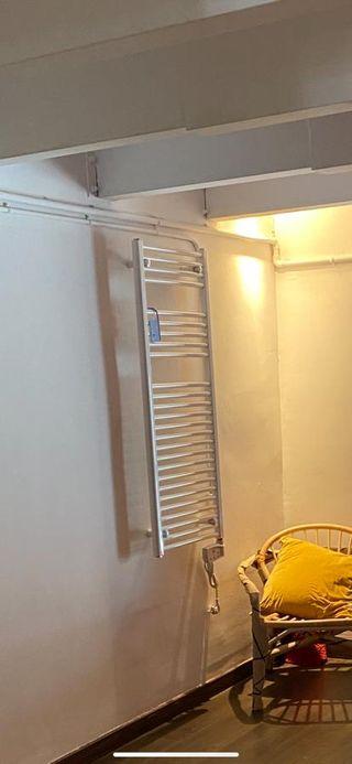 Radiador eléctrico baño toallero