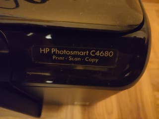 Impresora HP Photosmart C4680 (Escaner)