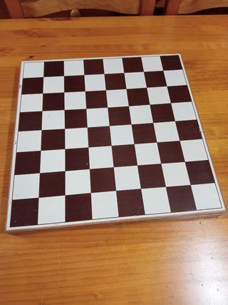 ajedrez pasiego de bronce