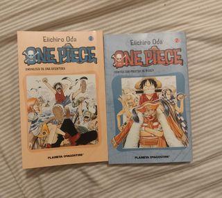 One Piece Manga 1 y 2