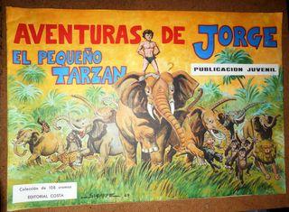 Aventuras de Jorge, cromos antiguos.