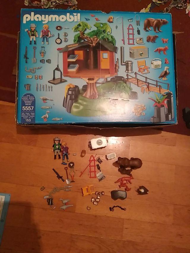 Playmobil casa del arbol wild life 5557