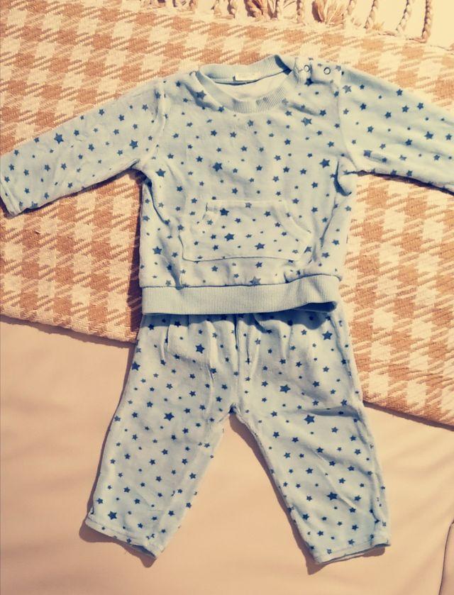 Pijama Benetton Baby 9-12 meses