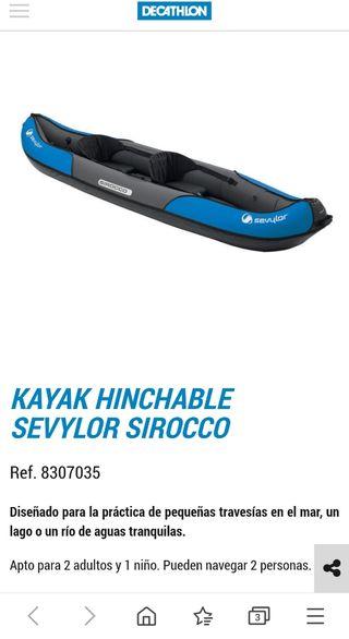 kayak sirocco