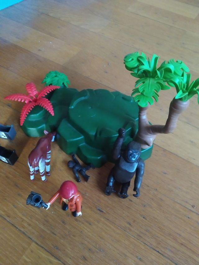 Playmobil gorilas y okapi 5273