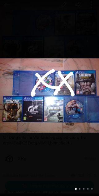 Juegos PS4 Oferta