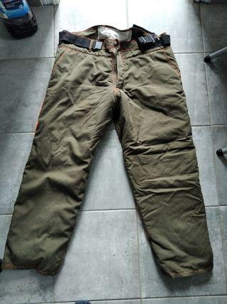 pantalón anticorte motosierra