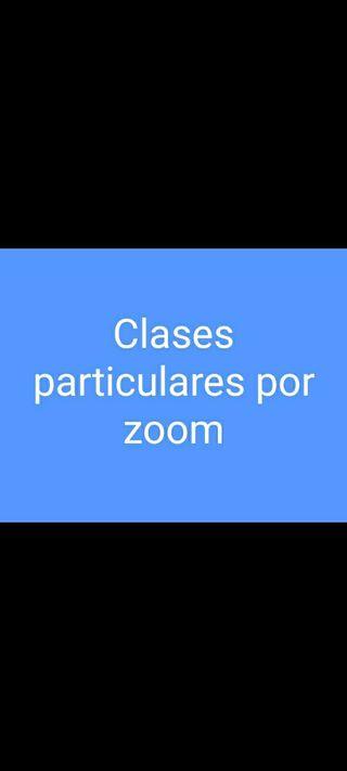 Clases particulares por zoom