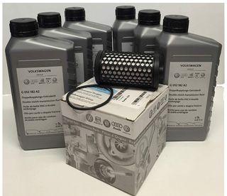 Cambio de aceite y filtro dsg original
