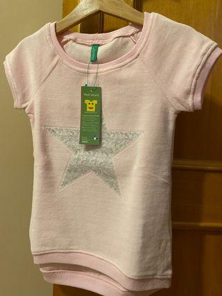 Camiseta niña Benetton