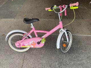 Bicicleta niña 4/8 años
