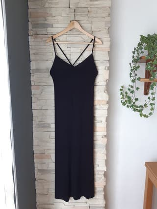 Vestido negro de Bershka talla M