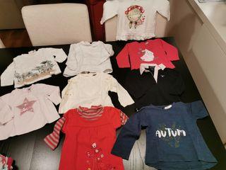 Camisetas bebé niña