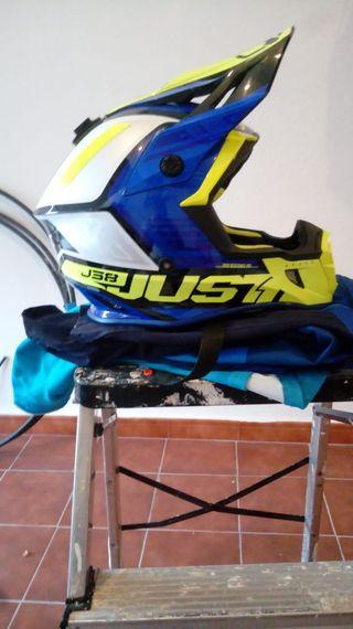 Casco de motocross JUST